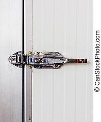 ручка, контроль, дверь, электрический, алюминий, cooling, комната