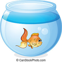 рыба, миска