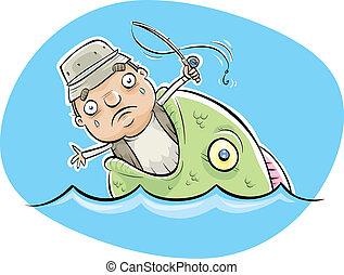 рыба, съеденный