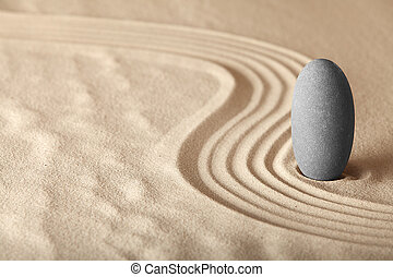 сад, форма, дзэн, релаксация, symplicity, здоровье, гармония, задний план, медитация, баланс