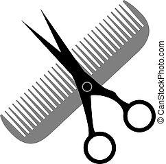 салон, волосы, дизайн