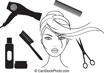 салон, парикмахерское дело