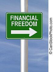 свобода, путь, это, финансовый