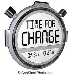 секундомер, время, изменение, таймер, часы