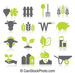 сельское хозяйство, значок