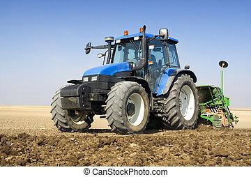 сельское хозяйство, -, трактор