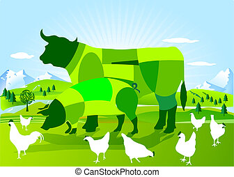 сельское хозяйство, bio-dynamic
