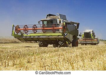 сельское хозяйство, combines, -