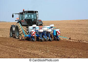 сельскохозяйственное, плантатор