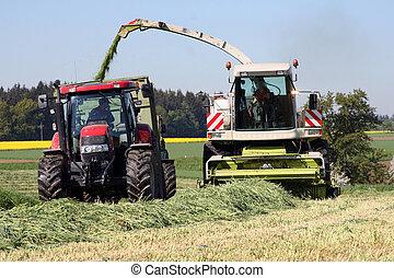 сельскохозяйственное, работа, прерыватель