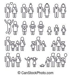 семья, icons