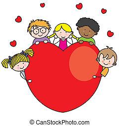 сердце, группа, children