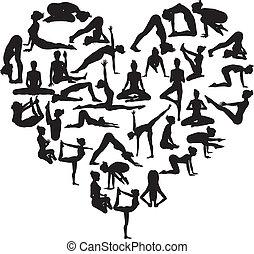 сердце, йога