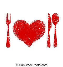 сердце, концепция, здоровье