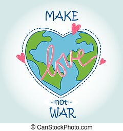 сердце, -, люблю, мир