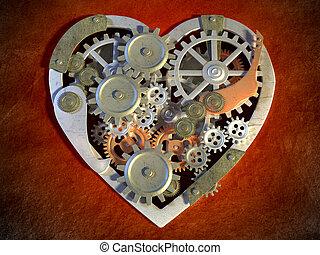 сердце, механический