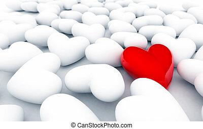 сердце, одинокий