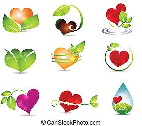 сердце, природа