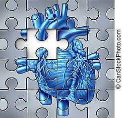 сердце, проблемы, человек