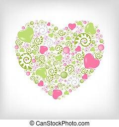 сердце, форма