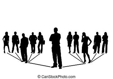 сеть, команда