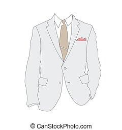 силуэт, бизнес, костюм
