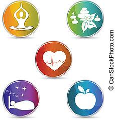 символ, задавать, здоровье