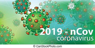 символ, задний план, coronavirus