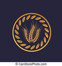 символ, зерно