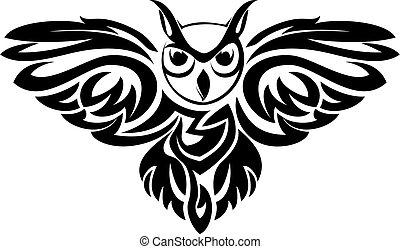 символ, сова
