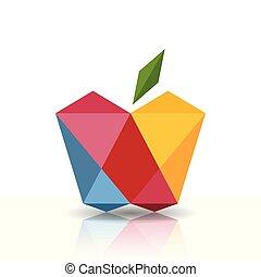 символ, яблоко