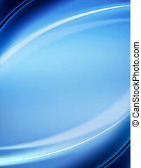 синий, абстрактные, задний план