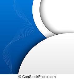 синий, абстрактные, задний план, 3d