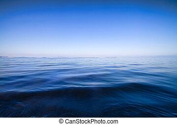 синий, воды, абстрактные, задний план, морской пейзаж