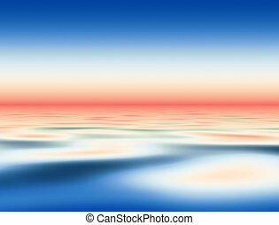 синий, воды, абстрактные, задний план