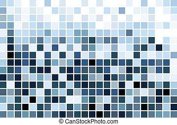 синий, мозаика, обои