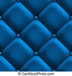синий, обивка