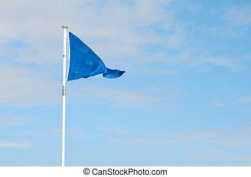 синий, флаг