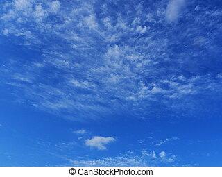 синий, beatuful, небо