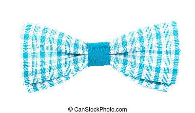 синий, isolated, stripes, лук, задний план, галстук, белый