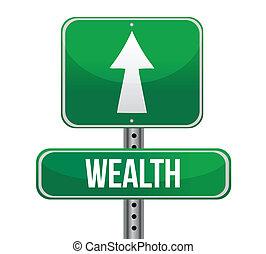 слово, богатство, дорога, знак