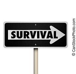 слово, выносливость, выживание, один, путь, знак, упругость, дорога