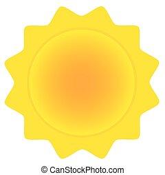солнце, абстрактные