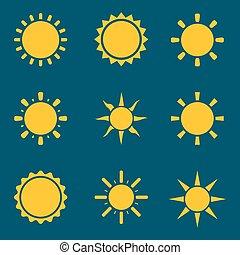 солнце, задавать