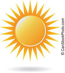 солнце, мощность, логотип