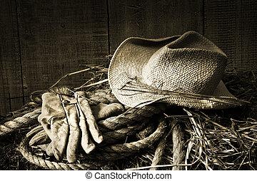 солома, сено, тюк, gloves, шапка