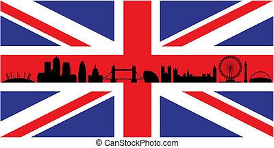 союз, флаг, лондон, разъем