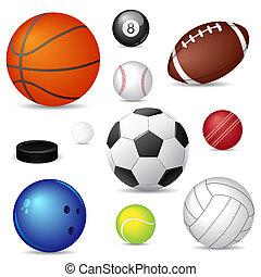 спорт, мячи