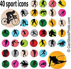 спорт, icons