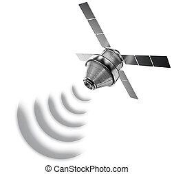 спутник, isolated